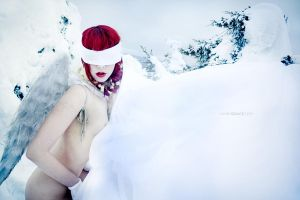 snow angel by kahengrace