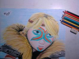 Astrid HTTYD 2 by McMoonTLoZ