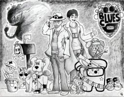 Blues Clues Investigations by GigaPichu