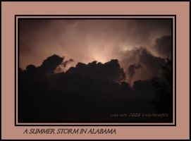 A summer storm in Alabama by LadyAliceofOz