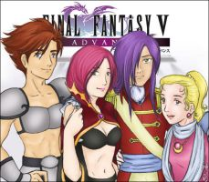 FFV: Dear Friends by ajorafravashi