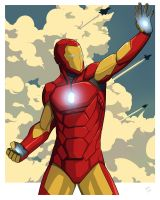 The Invincible Iron Man by Mro16