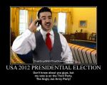 Motivation - Presidential Elections by Songue