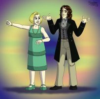 Eight And Charley by cardinalbiggles
