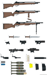 Peakskil Armoury Self Loading Rifles by AtholTheDestroyer