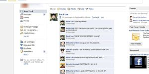 Rock Lee Facebook by Zukura7L