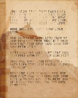 S4 M. Event - Page from an ancient journal by vtas