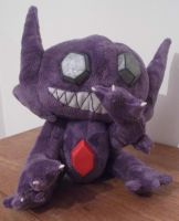 poseable Sableye Pokemon Plush by angelberries