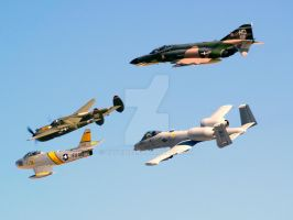 Heritage Flight by dave3422