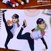 Baseball Girl by MZ09