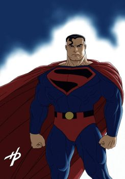 Superman: Kingdom Come (in color) by Hal-2012