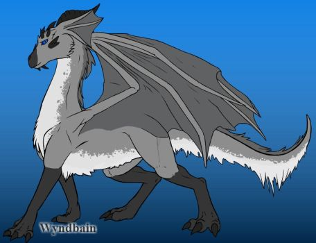 what would I look like as a feral dragon by adamphillip