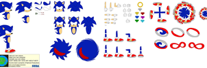 Character Builder-Sonic The Hedgehog by Kphoria