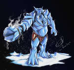 Ymir Father of the Frost Giants _SMITE_ by Kattoran