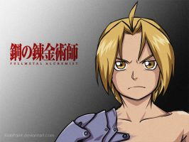 Edward Elric by RainPaint