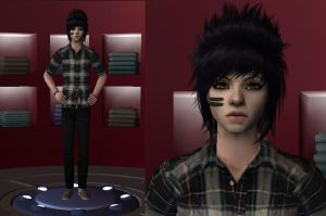 Dahvie Vanity sims 2 by linkfangirltpoot
