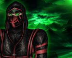 MK9 Ermac in the Hood by DeathsFugitive