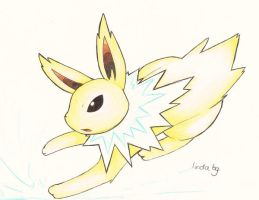 Jolteon2 by KayaaXx