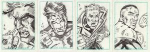 Comics for Cure GL Sketch Card by valiantonov