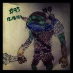 Napkin Art #93 - Bulblin - Twilight Princess by PeterParkerPA