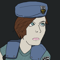 S.T.A.R.S. Jill Valentine by holdypause