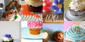 Cupcake Icon Bases 1 by princessloser