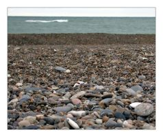 Pebble beach by Lejonlurv