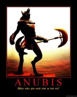 Demotivator: Anubis by Yoda-Vaderworshipper