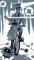 Bicycle by Not-Sparkly-At-All