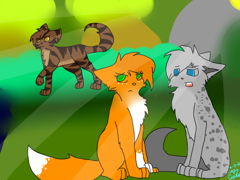 Ashfur-Apologize by CrystalCandies