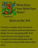my birth date by moonofheaven1