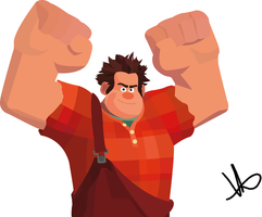 Wreck-It-Ralph by M4choPichuBr