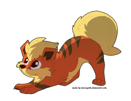 AT-Growlithe by Legallh