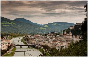 a view on salzburg II by zero-