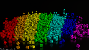 Cubes Colors by Tardifice