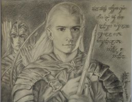 Legolas at Helm's Deep by sadronniel
