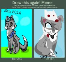 Before and after meme :3 by Eutniz