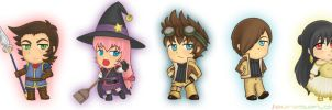AB4: Color Chibs by LauraSan