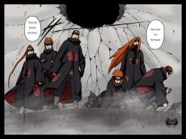 The Six Paths Of Pein Request by l3xxybaby