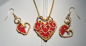 Heart Container Set by merelei
