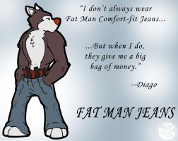 Diago for Fat Man Jeans by NyQuilDreamer