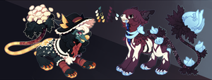 ::Halloween Auction:: - Critters (one day left!!) by PhloxeButt