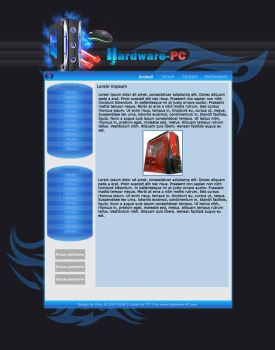 Hardware-PC design by Rhoxar