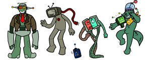 Robot Bros by Madd-D