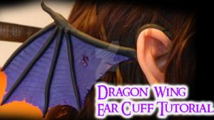 Dragon Wing Ear Cuff Tutorial (Video) by NerdEcrafter
