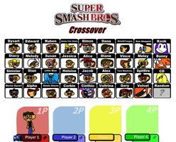 SSBC - Choose Your Character by Dysartist