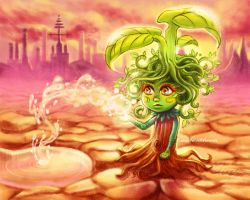 foraging tree pixie by ambientdream