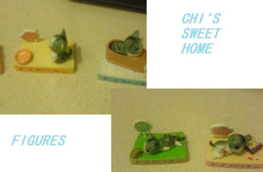Chi's Sweet Home Figures by Livii-Chann