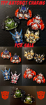 TFP Autobot Charms for Sale! by Karra-shi