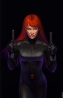 Black Widow by ayhotte